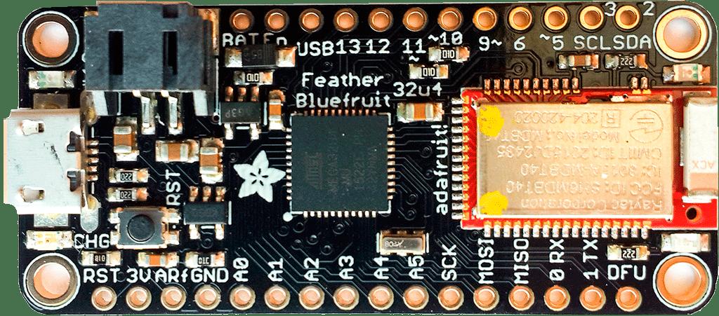 Adafruit Feather 32u4 Bluefruit LE
