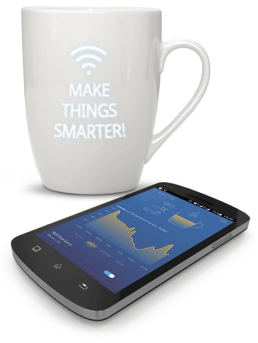 Smart cup. Internet of things (IoT)