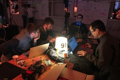 The Edgica team, table 91, Odyssey hackathon 2019